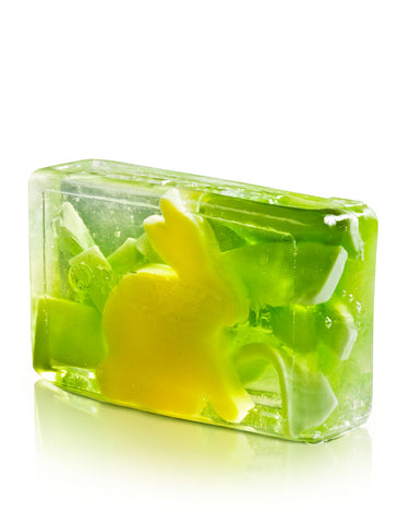 Organique Glycerin Handmade Soap Bar Yellow Hare 100g