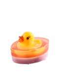Handmade Glycerin Duck Toy Soap 40g for kids and babies from Organique natural cosmetics