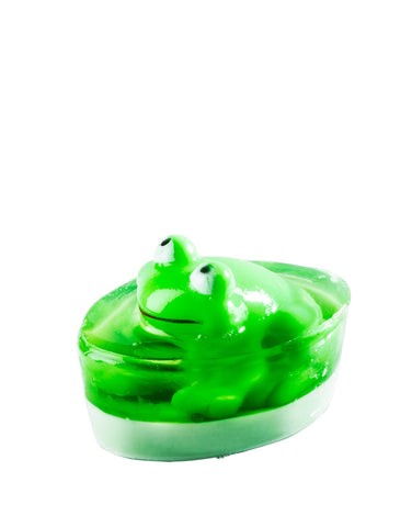 Organique Handmade Glycerin Frog Toy Soap 40g for babies and kids