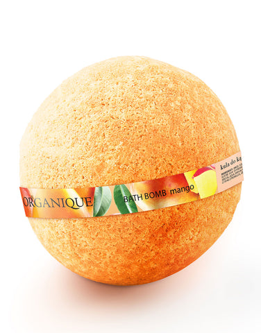 Organique nourishing natural Bath Bomb Mango 170g