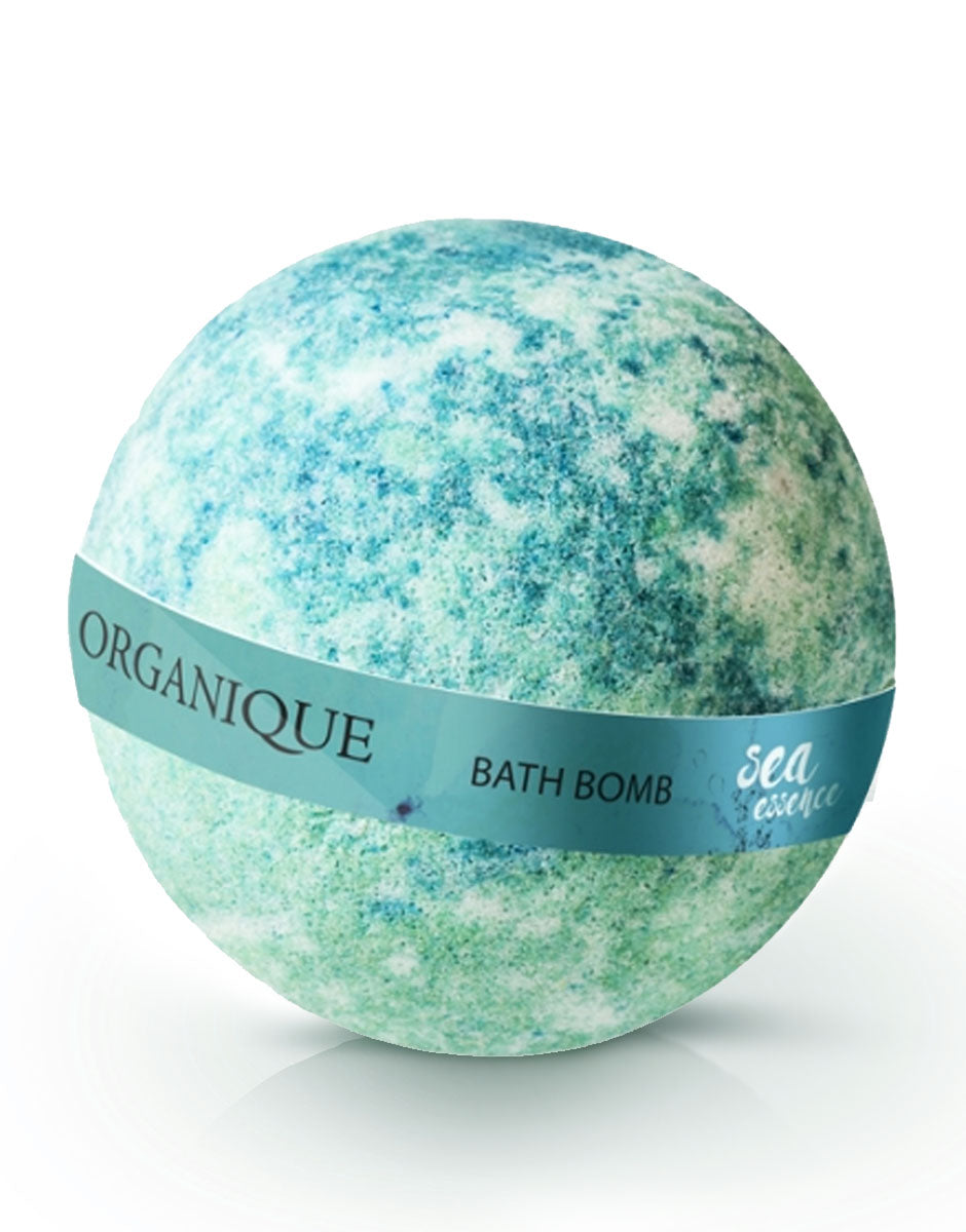 Organique Nourishing Bath Bomb Sea Essence 170g natural cosmetics