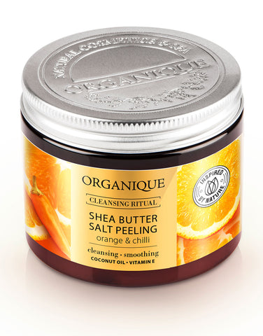 Organique Salt Body Peeling Orange And Chilli With natural Shea Butter 200ml (228232888348)