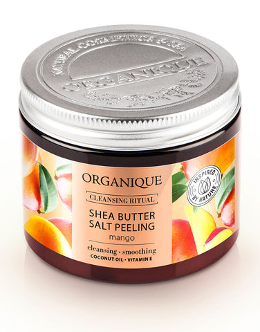 Organique Salt Body Peeling Mango With natural Shea Butter 200ml