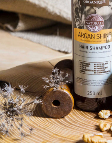 Argan Shine Shampoo For Dry And Damaged Hair