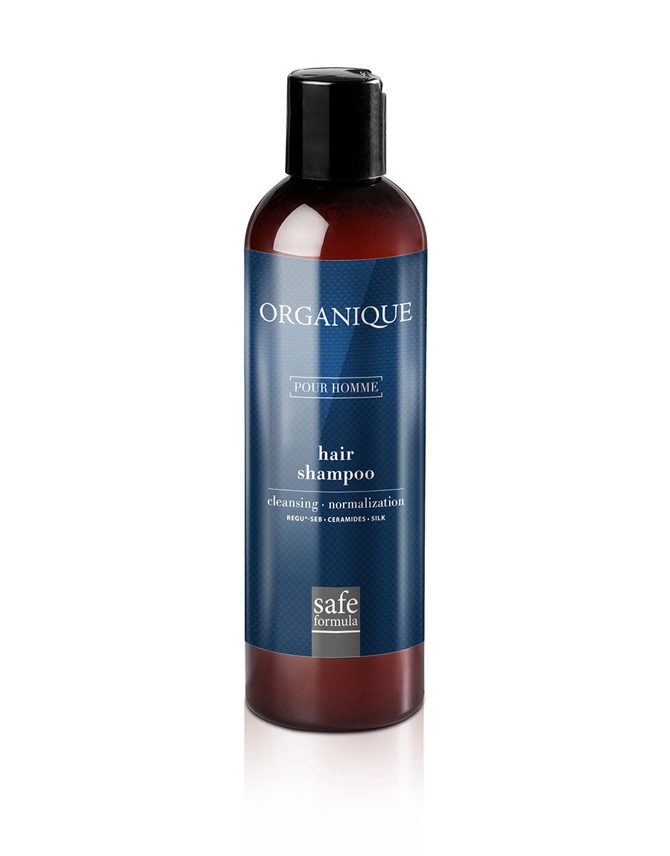 Normalizing Men Hair Shampoo 250ml bottle Organique cosmetics