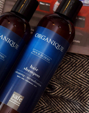 Normalizing Men Hair Shampoo Organique cosmetics inspired by nature