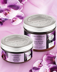 Nourishing Black Orchid natural Shea Butter Body Balm from Organique