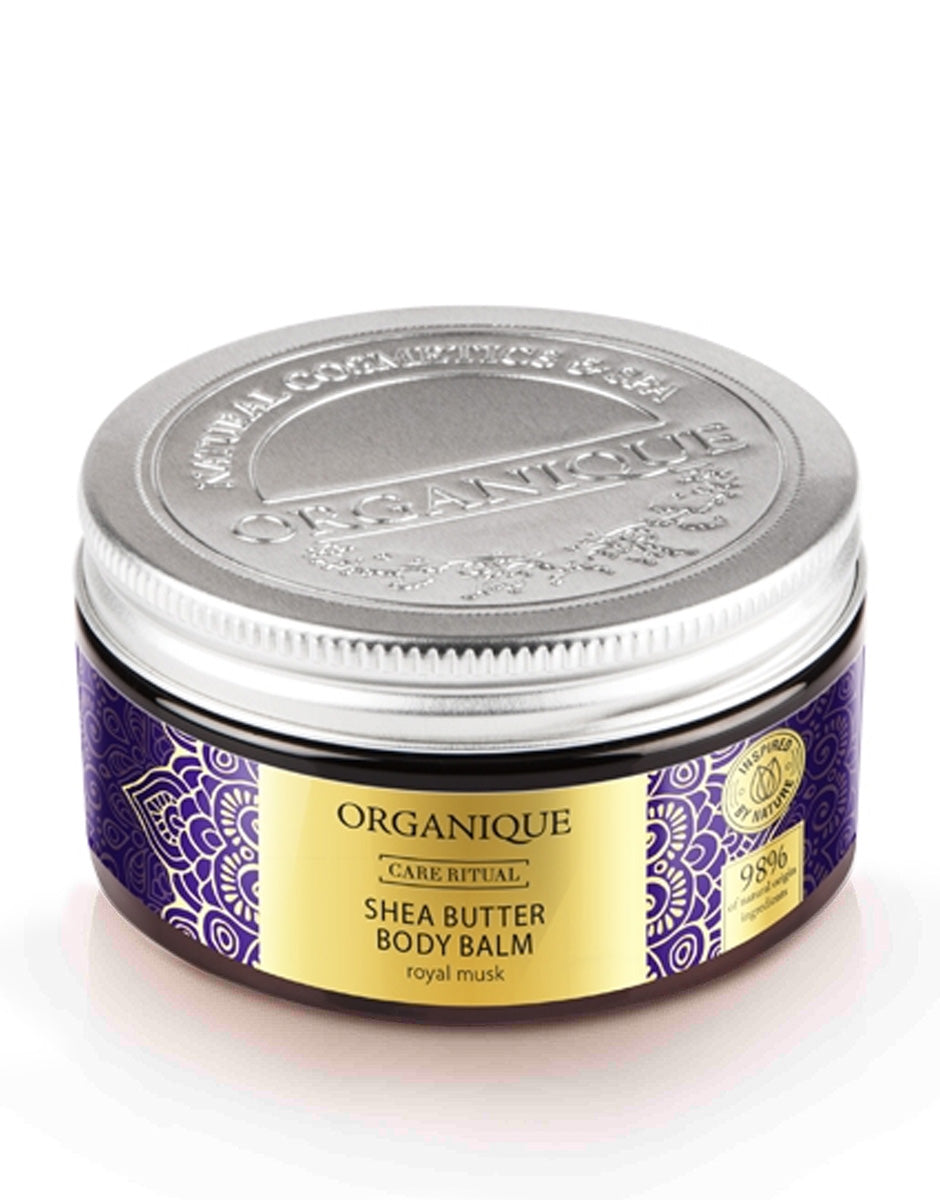 Organique Shea Body Butter Body Balm Royal Musk 100ml natural cosmetics