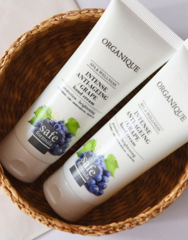 Organique Intense Anti Ageing Hand Cream With Grapes from Organique natural cosmetics