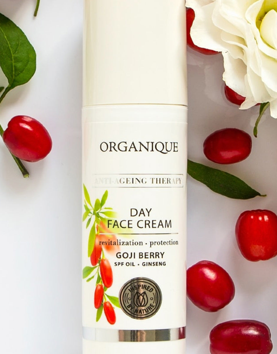 Goji Anti Ageing Therapy Day Face Cream from Organique cosmetics