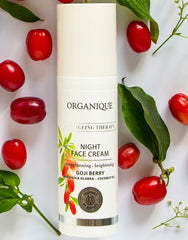 Goji Anti Ageing Therapy Night Face Cream Organique