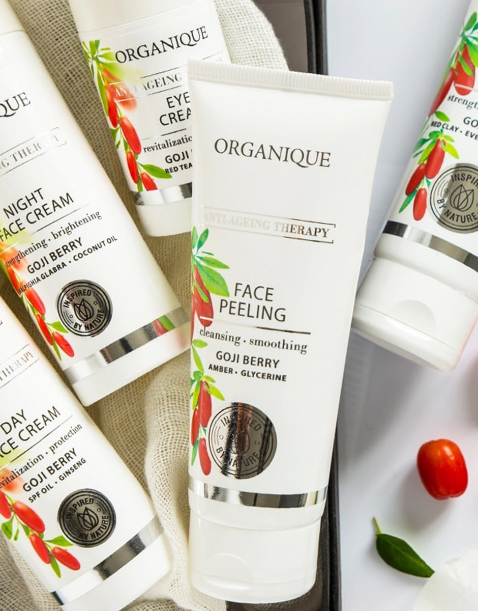 Goji Anti Ageing Therapy Face Peeling Organique cosmetics inspired by nature