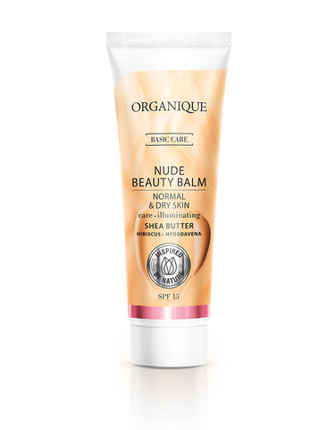 Organique nude Beauty Balm Normal And Dry Skin 30ml bb cream natural