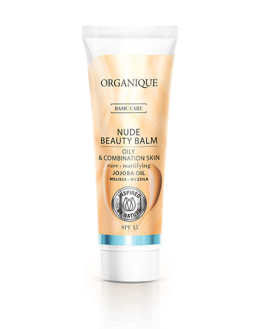 Organique Nude Beauty Balm Oil And Combination Skin 30ml tube natural cosmetics
