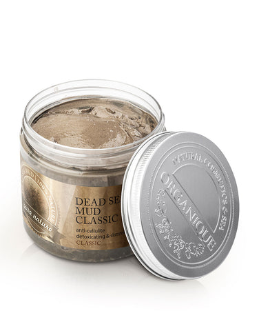 Organique Natural Dead Sea Black Mud Body Mask 200ml box
