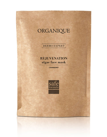 Rejuvenation Algae Peel Off Mask With Cranberry Extract 30g pouch from Organique  cosmetics