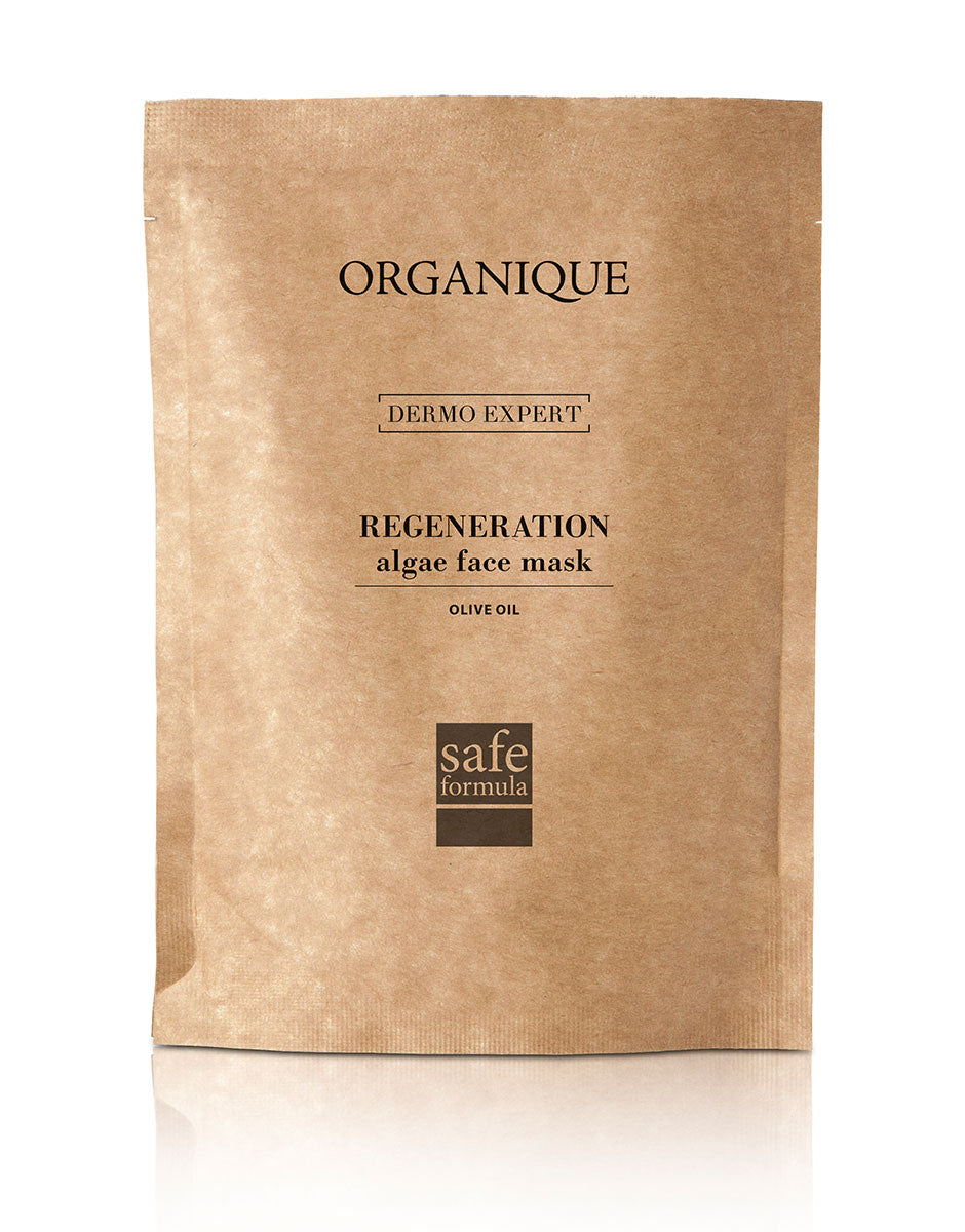 Regenerating Algae Peel Off Face Mask With Olive Oil 30g pouch  natural cosmetics Organique