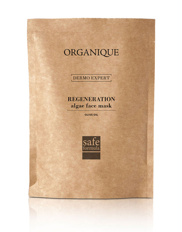 Regenerating Algae Peel Off Face Mask With Olive Oil 30g pouch  natural cosmetics Organique (227391832092)