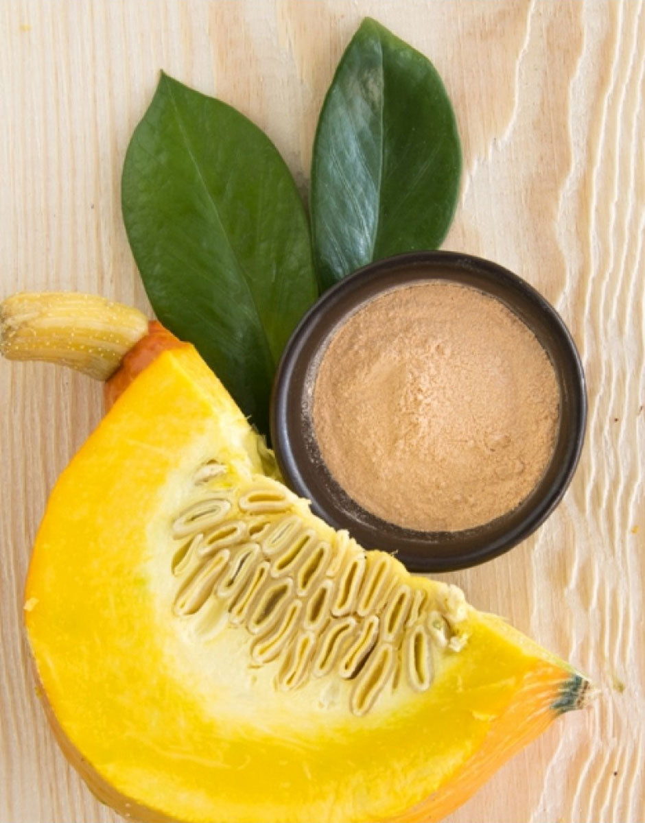 Hydrating algae peel off face mask with pumpkin from Organique cosmetics