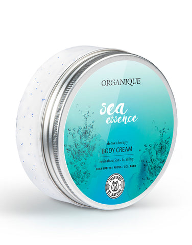 Organique Revitalizing Sea Essence Body Cream 200ml box