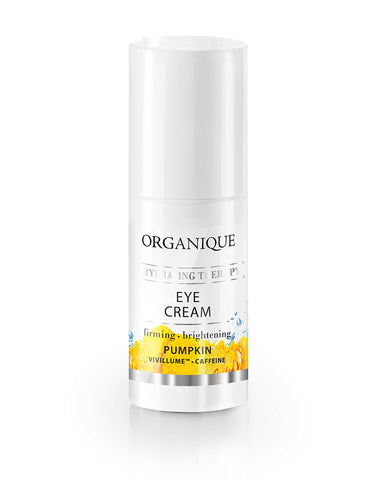 Firming And Hydrating Eye Cream Organique cosmetics, pumpkin extract