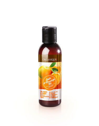 Organique Bath and Massage Oil Orange 125ml only natural cosmetics (1313620983896)