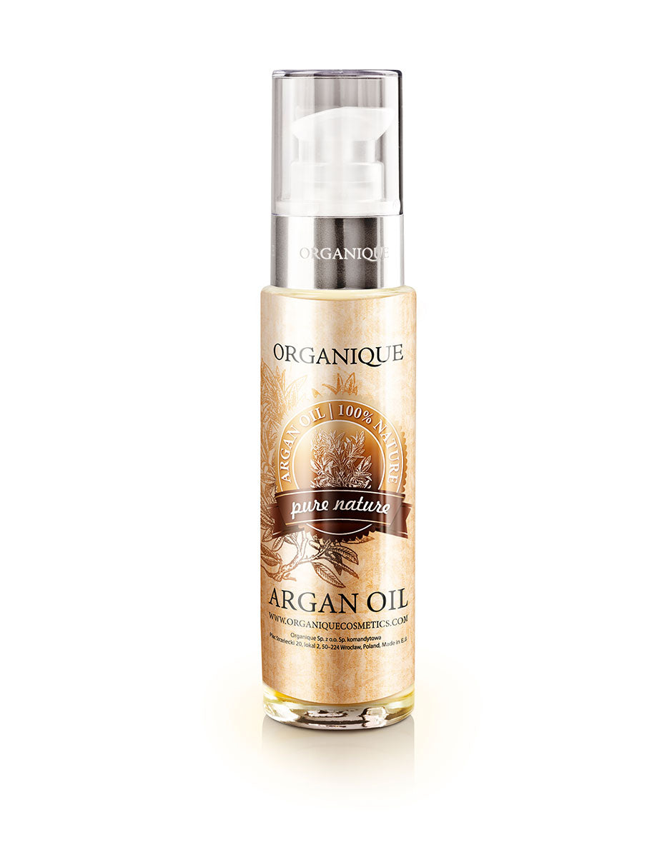 Organique pure Argan Oil 100% natural 50ml bottle with feeder