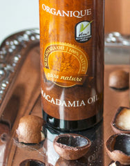 Natural Macadamia Oil 125ml bottle from Organique cosmetics