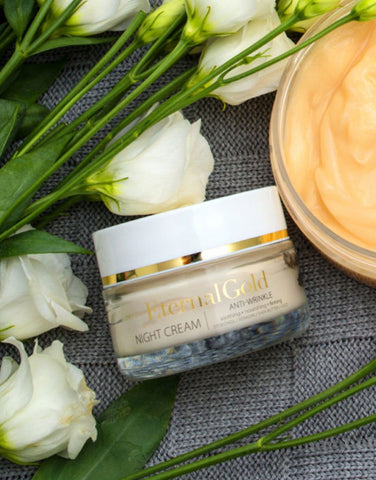 Anti Ageing And Lifting Face Cream With Gold