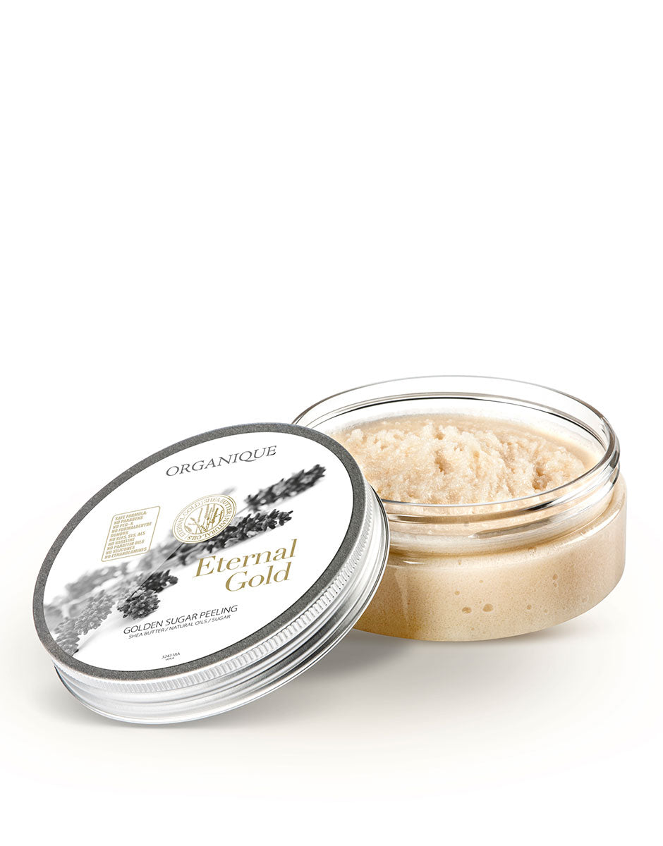 Smoothing Sugar Body Peeling With Gold Organique natural cosmetics