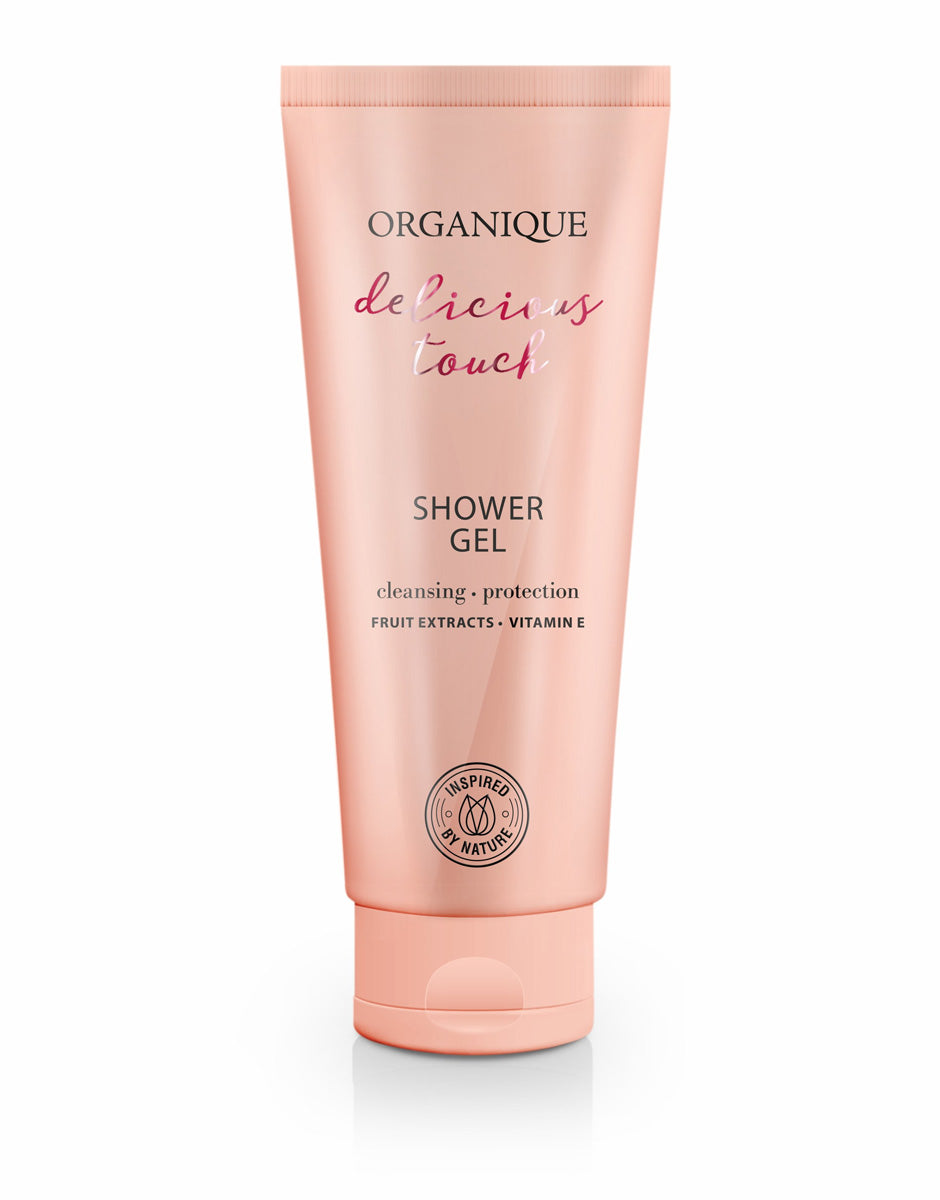 Organique cosmetics Revitalizing and Protecting Shower Gel 200ml delicious touch