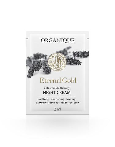 Anti Ageing And Lifting Night Face Cream With Gold - Sample 2ml