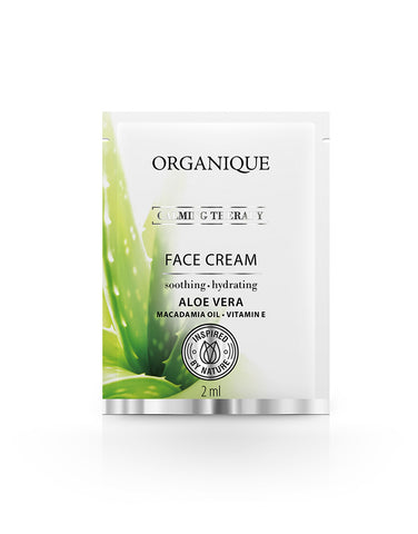 Calming And Hydrating Face Cream For Sensitive Skin With Aloe - Sample 2ml (4785880596619)