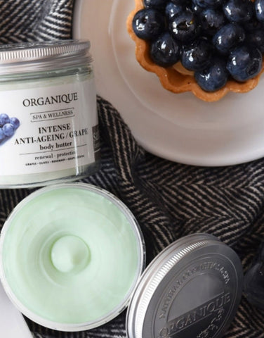 Intense Anti Ageing Body Butter with Grapes Organique natural products