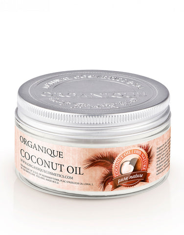 Organique pure natural Coconut Oil 100ml package cosmetic