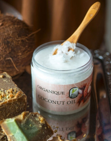 Pure Natural Coconut Oil 100ml from Organiquecosmetics