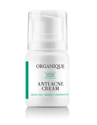 Hydrating Face Cream For Acne And Problematic Oily Skin 50ml bottle with feeder Organique cosmetics