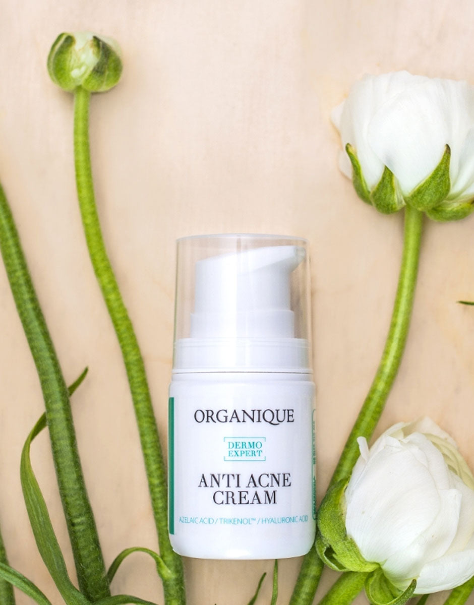 Hydrating Face Cream For Acne And Problematic Oily Skin Organique only from Natural shop Ireland