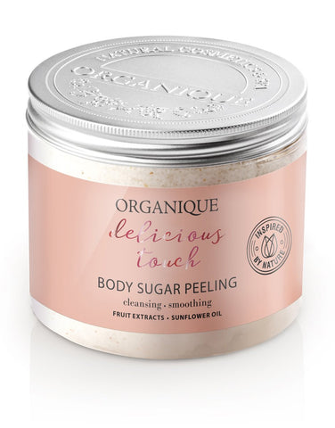 Revitalizing and Smoothing Body Sugar Peeling 200ml from Organique natural cosmetics (751360016472)
