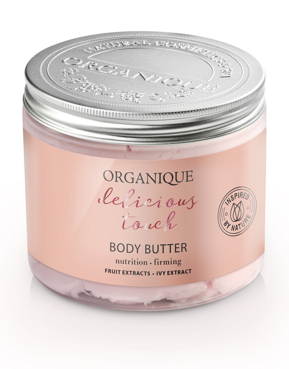 Organique natural cosmetics Revitalizing and Firming Body Butter 200ml delicious touch