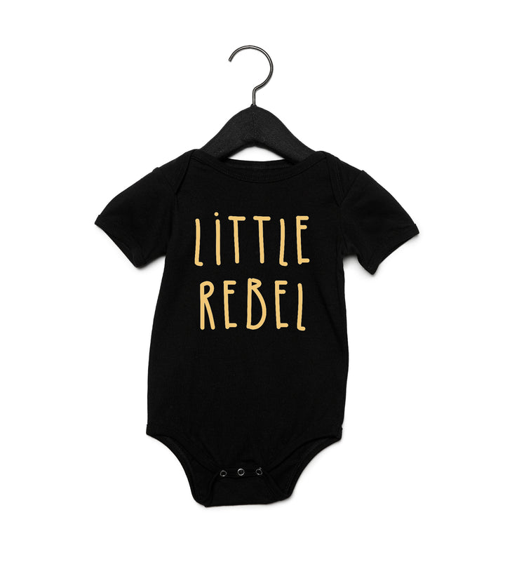 Little Rebel Onesie - Black