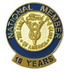 15 Year Membership Pin