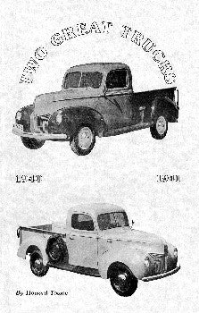o Great Trucks - 1940-1941 Ford Pickup Truck booklet