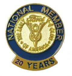 20 Year Membership Pin
