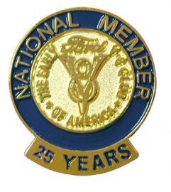 25 Year Membership Pin
