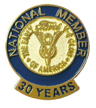 30 Year Membership Pin