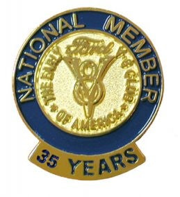 35 Year Membership Pin