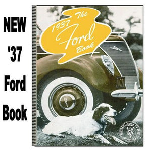 1937 Ford Book, Softbound
