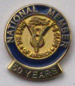 50 Year Membership Pin