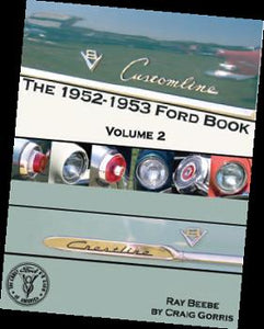 1952 - 53 Ford Book, Hardbound (DBL Shipping Rates Apply)